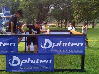 4ft. high hurdles